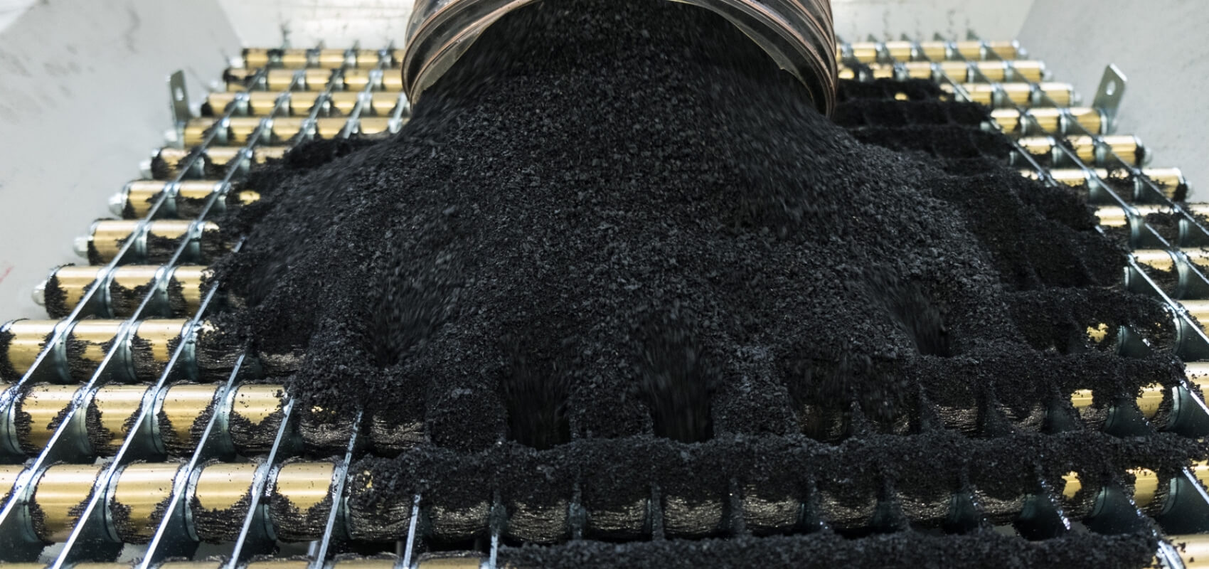 Produkcja mat gumowych zgranulatu